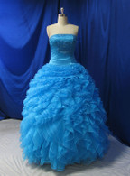 Blue Wedding Dress - Available in Every Color 17