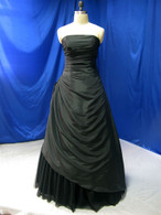 Black Taffeta Wedding Dress - Available in Every Color 2