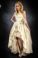 Champagne Gold Wedding Dress