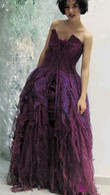 Purple Wedding Dress 1