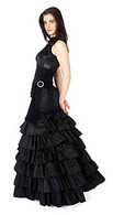 Black Gothic Wedding Dress 3
