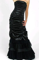 Black Gothic Wedding Dress 4