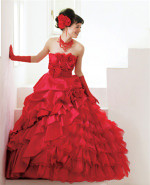 Red Wedding Dress 4