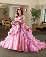 Pink Pink Wedding Dress - Available in Every Color