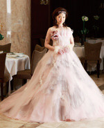 Baby Pink Wedding Dress - Available in Every Color