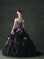 Black Wedding Dress 1