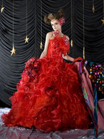 Red Wedding Dress 6