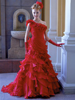 Red Wedding Dress 7