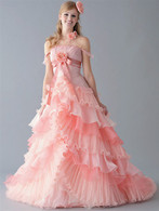 Pink Wedding Dress - Available in Every Color 6