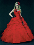 Red Wedding Dress 9