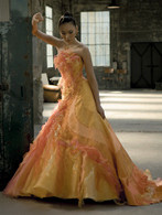 Yellow Wedding Dress- Available in Every Color 2