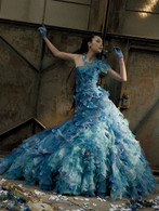 Blue Wedding Dress - Available in Every Color 23
