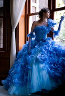 Blue Wedding Dress - Available in Every Color 26