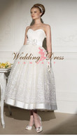 50s Tea Length Wedding Dress Sadie - Available in Every Color