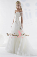 Point D'Esprit Lace Couture Wedding Dress Lexy