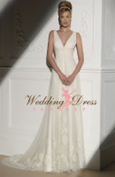 Empire Waist Couture Wedding Dress Ella