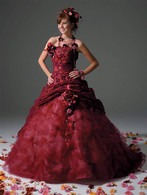 Red Wedding Dress - Available in Every Color 3