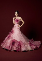 Pink Bridal Gown  - Available in Every Color 3