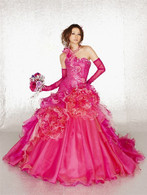 Hot Pink Bridal Gown  - Available in Every Color