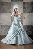 Blue Bridal Gown  - Available in Every Color