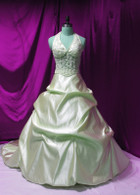 Gold Taffeta Wedding Dress - Available in Every Color 2