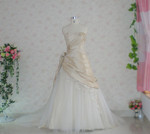 Gold Taffeta Wedding Dress - Available in Every Color 3