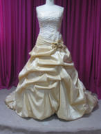 Gold Taffeta Wedding Dress - Available in Every Color 5