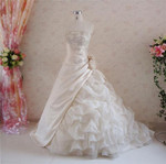 Gold Taffeta Wedding Dress - Available in Every Color 8