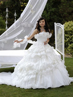 Gypsy Wedding Dress 13