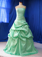Green Wedding Dress - Available in Every Color 9