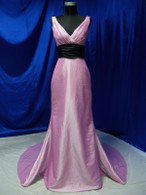 Trumpet Style Purple Wedding Dress - Available in Every Color