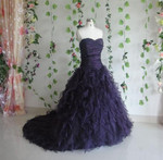 Purple Wedding Dress - Available in Every Color 5