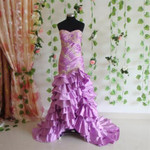 Purple Wedding Dress - Available in Every Color 6