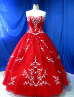 Red Wedding Dress - Available in Every Color 4