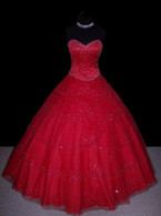 Red Wedding Dress - Available in Every Color 15