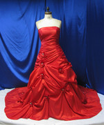 Red Wedding Dress - Available in Every Color 19