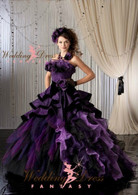 Purple Bridal Gown Available in Every Color