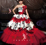 Red and Black Wedding Dress Available in Every Color 1