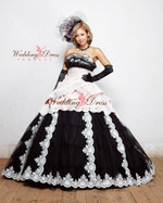 Gothic Wedding Dress Available in Every Color 1