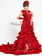 Red Wedding Dress Available in Every Color