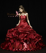 Burgundy Wedding Dress Available in Every Color 1