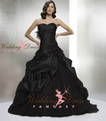 Black Wedding Gown Available in Every Color