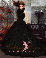 Black Wedding Gown Available in Every Color 1