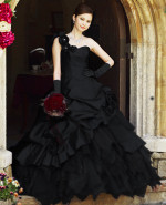 Black Wedding Gown Available in Every Color 3