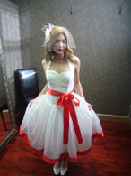 Tea Length Wedding Dress 1