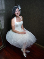 Tea Length Wedding Dress 2