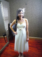 Tea Length Wedding Dress 4