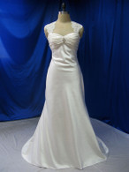 Trumpet Style Vintage Inspired Wedding Dress - Available in Every Color