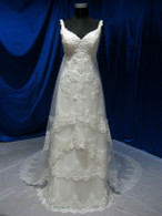 Vintage Inspired Wedding Dress - Available in Every Color 5