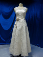 Vintage Inspired Wedding Dress 1